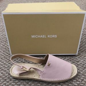 Michael Kors Fisher espadrille In Soft Pink